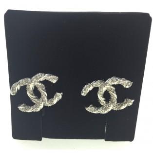 香奈兒A63057耳環(銀色)