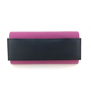 愛馬仕Passant Long Epsom皮銀包(紫/藍) H