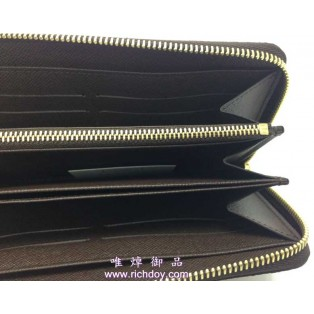 LV N60015 銀包(啡色)